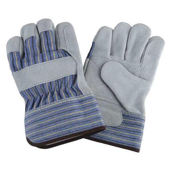 Leather Gloves Split Double