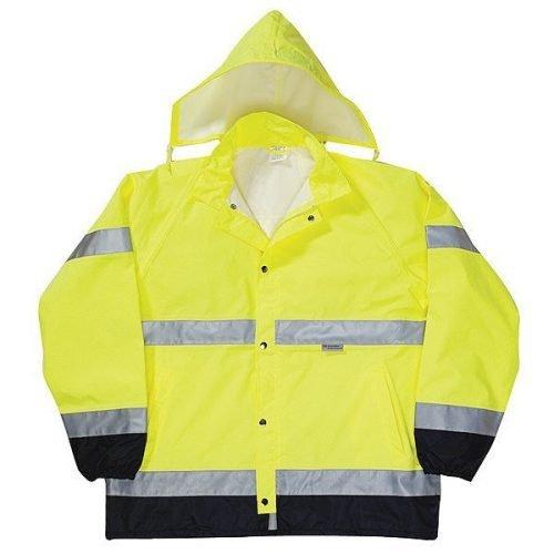 Hi-Viz, Hi-Visibility Rain Jackets/Raincoats
