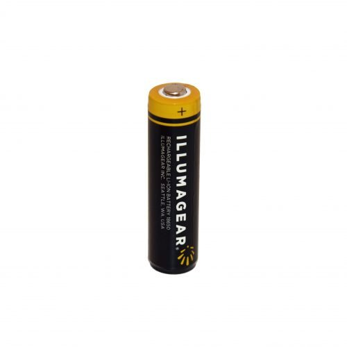 Illumagear Halo, 18650 Lithium Ion Rechargeable Batteries (2-pack)