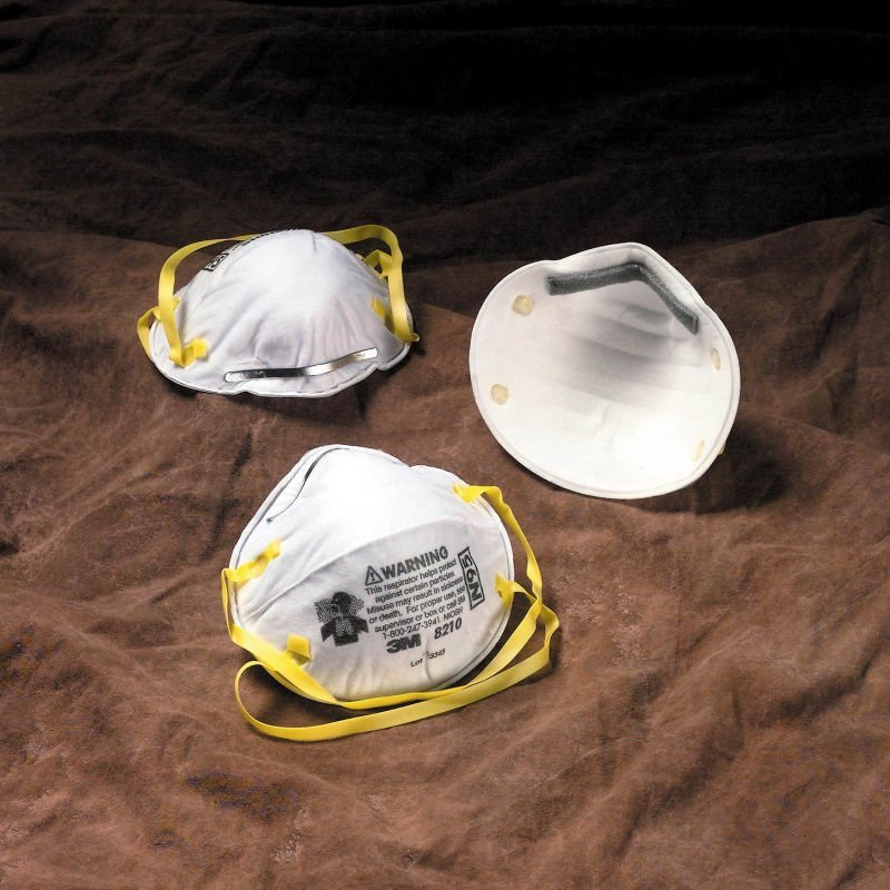 3m particulate respirator 8210 n95 mask