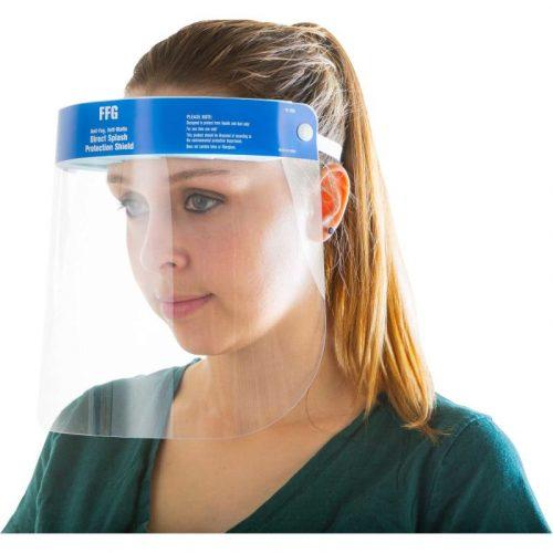 Splash Protection Face Shield, Anti-Fog, Anti-Static